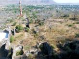Daulatabad Fort outer area, India.