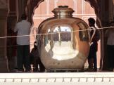 Silver Urn at the Diwan-i-Khas,  Jaipur, India.