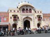 Tripolia Gate - One of the Old City Pols at Jaipur, India.