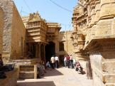 Temple group - the entrance at Jaisalmer Fort