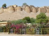 The fort atop Jaisalmer, India