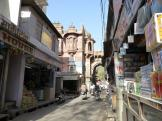 Sidestreet - quiet for once - at Jodhpur India.