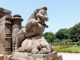 One of the simha gagas at Konark Sun Temple in India.