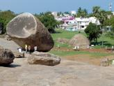 Krishna's Butterball at Mamallapuram in India.