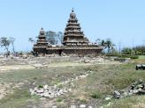 Mamallapuram Shore Temple - India.