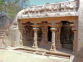Varaha CaveTemple  dedicated to Vishnu, Mamallapuram, India.