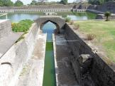 Jahaz Mahal tank - Mandu City Fort, India.