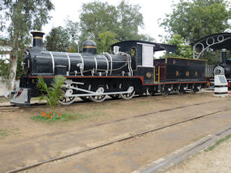 RMR-F734 was India's first fully produced steam engine