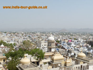 The beautiful City of Udaipur, India
