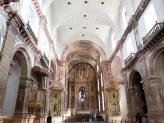 Interior of the Church of St Francis of Assisi in Old Goa, India.
