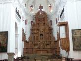 The Main Altar in St Cajetan Church, Old Goa, India.
