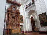 The interior of St Cajetan Church, Old Goa, India.