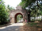The Viceroy's Arch, Old Goa, India.