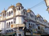 An old Pushkar building - India.