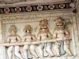 Interesting Ranji Temple carvings - Pushkar, India.