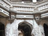 Lace like carving at Adalaj Step Well (India)