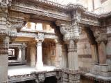 Adalaj Step well and excellently sculptured galleries - India.