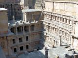 Some of the many tiers of galleries at Rani Ni Vav - India.