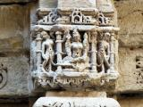 Rani Ki Vav Step well column sculptures