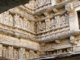 Rani Ki Vav Step well - the galleries are laced with sculptures