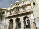 Beautiful buildings in the Old Part of Udaipur - India.